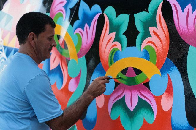 Kunsthandwerk in Sarchi